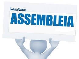 RESULTADO DA ASSEMBLEIA – CONSORCIO CENTRAL CIDADANIA