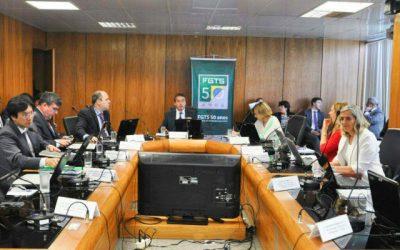 22/05/2018 – Conselho Curador do FGTS debate orçamento e investimento em programas sociais