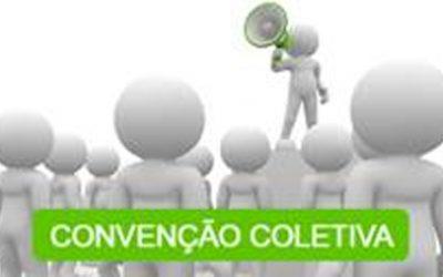 CONVENÇÃO COLETIVA, PREVÊ REAJUSTE E BENEFÍCIOS SOMENTE AOS CONTRIBUINTES