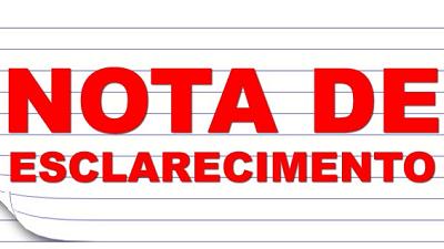 NOTA DE ESCLARECIMENTO SOBRE REAJUSTE DA CATEGORIA DOS EMPREGADOS DAS CASAS LOTÉRICAS – 01º/05/2020